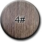 #4  - Chocolate Brown