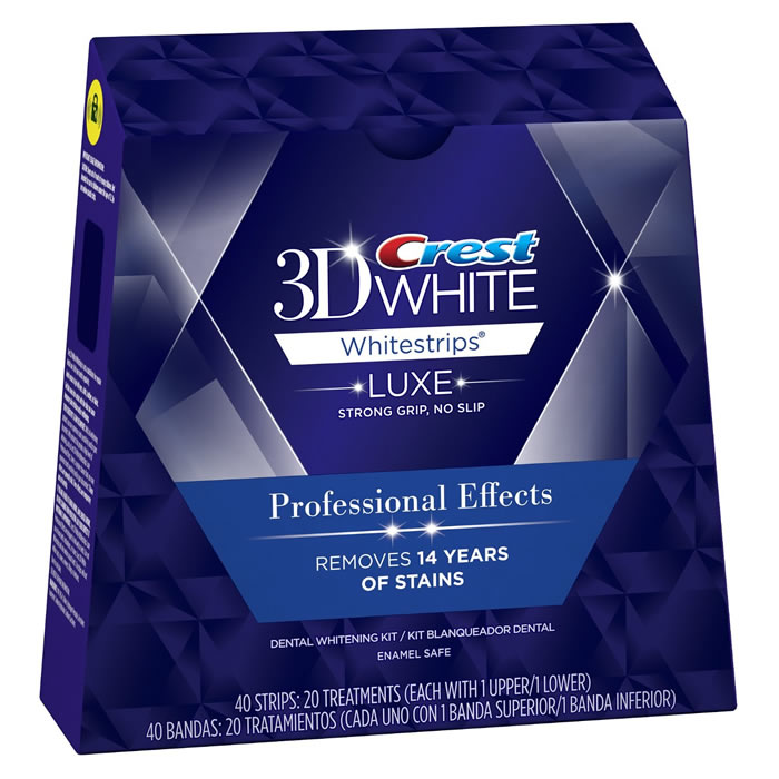 Crest 3D Professional Effects Teeth Whitening Strips